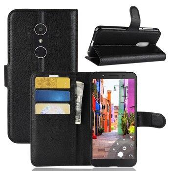 Кожаный флип-чехол для Alcatel 7 1 A7 1X 1C 2019 A30 A5, светодиодные Чехлы для Alcatel 3V 3C U3 3G A3 XL A3 3L, чехол для карт, чехол-кошелек