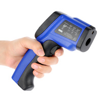 Handheld Non Contact Digital LCD Laser IR Infrared Thermometer Temperature Tester Pyrometer Range 50~950 Degree
