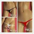 Sexy ladies low-waiste mini thong sex toy elastic nylon underwear women's g-string exotic panties lingerie