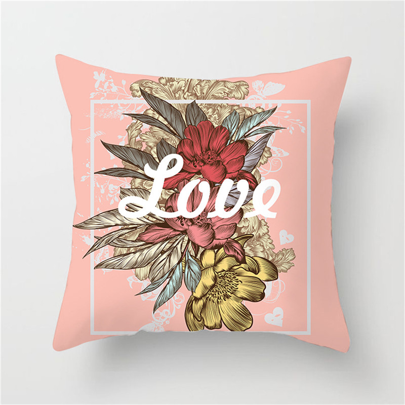 Fuwatacchi Floral Cushion Cover Olive Classical Bird Wedding Pillow Cover Decoration Home Sofa Chair Throw Pillowcases in Cushion Cover from Home Garden
