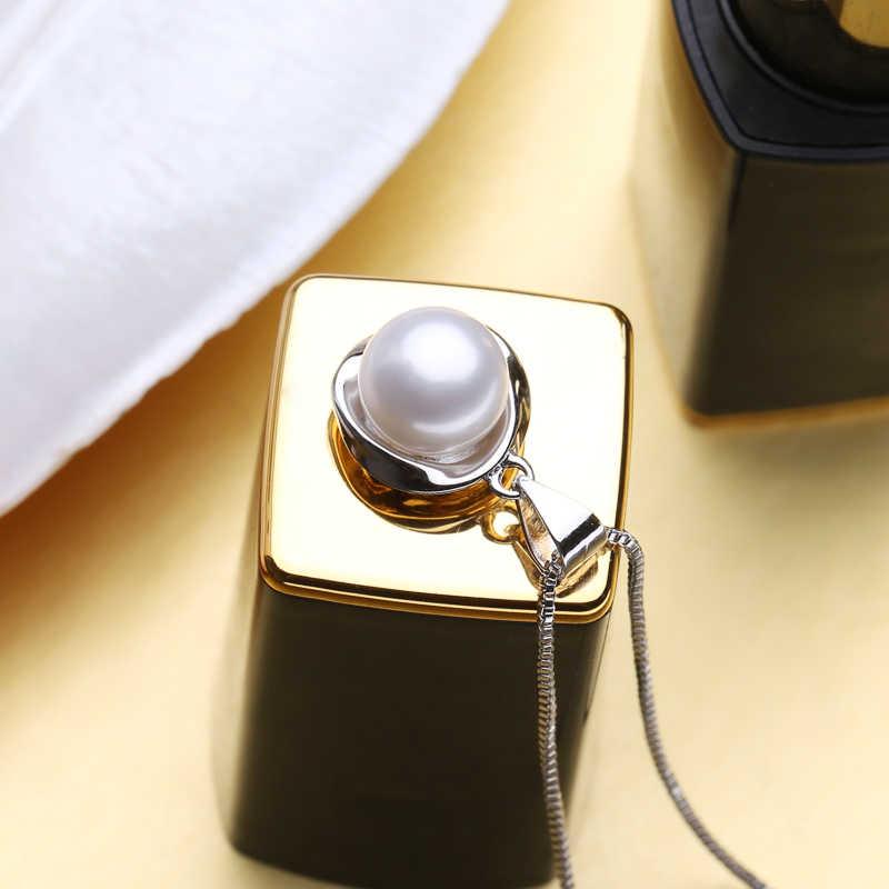 FENASY perła biżuteria, naturalna perła słodkowodna naszyjnik dla kobiet, naszyjniki i wisiorki, choker naszyjnik wisiorki, pudełko z biżuterią