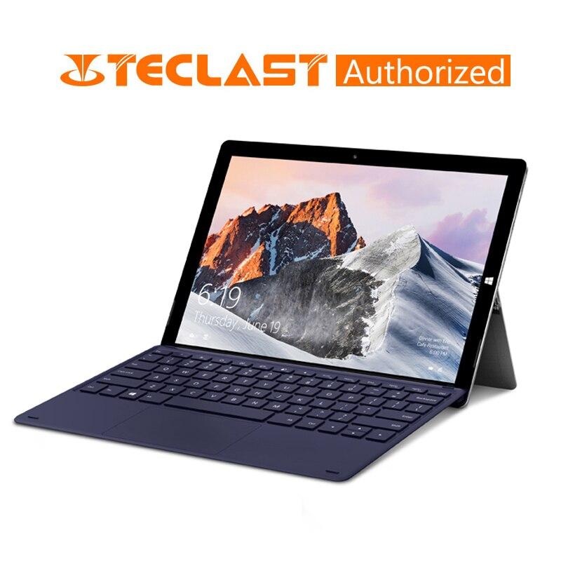 Teclast X6 Pro 12.6 Inch 2 In 1 Tablet Intel M3-7Y30 8GB RAM 256GB SSD 1920*2880 FHD IPS Windows 10 Touch Screen Tablet USB3.0