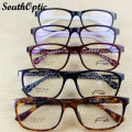 New Model Super Light TR90 Full Rim Unisex Computer High Quality Optical Frame With 1.56 HMC EMI UV400 Prescription Lenses 2878