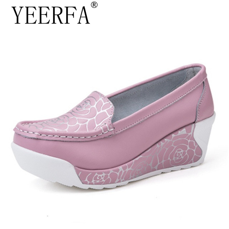 kang mother nurse shoes peas wild flat comfortable supermall yi s women mouth shallow leisure comforter pink