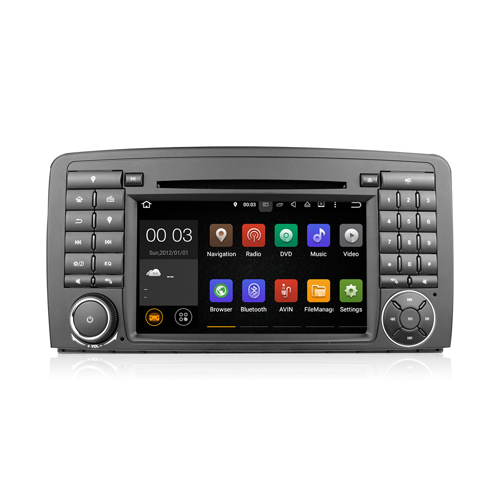 Android 5.1 quad core DVD GPS Navi Stereo for  Benz R-Class W251 W280 W300 W320 W350 W500 Autoradio Multimedia System