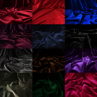 Velvet Ubiquitous1 Flannelet Solid Color Fleece Fabric Elastic Velvet Sports