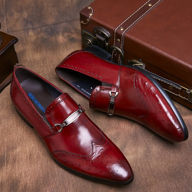 how to tell real ostrich leather