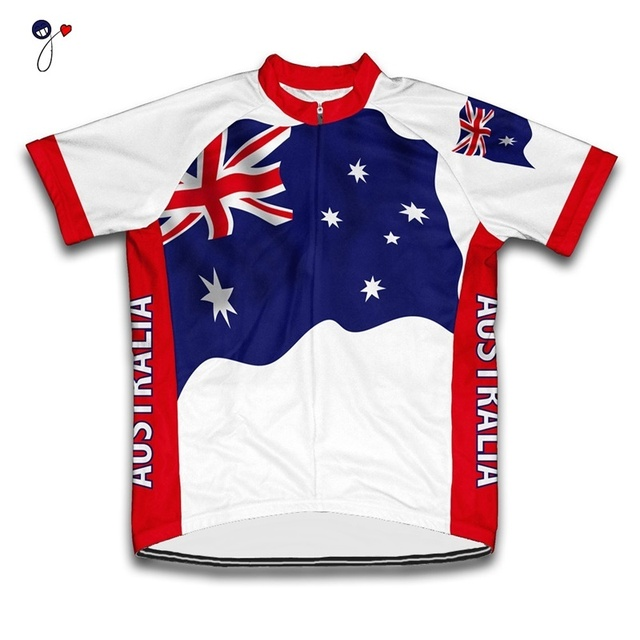 Australia cycling jersey men short sleeve pro team bicycle clothing Mtb  road bike clothing cycling wear cycling clothes ae0ff6177