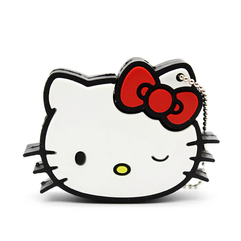 Free Shipping Cutehello Retail Wholesale Hello Kitty Usb Flash Drive 8gb/16gb/32gb Lovely Kitty Memory Stick Pen Drive 11 Styles