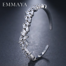 EMMAYA – Bracelet ouvert pour femmes, manchette de 3 couleurs, bijoux cadeau pour filles