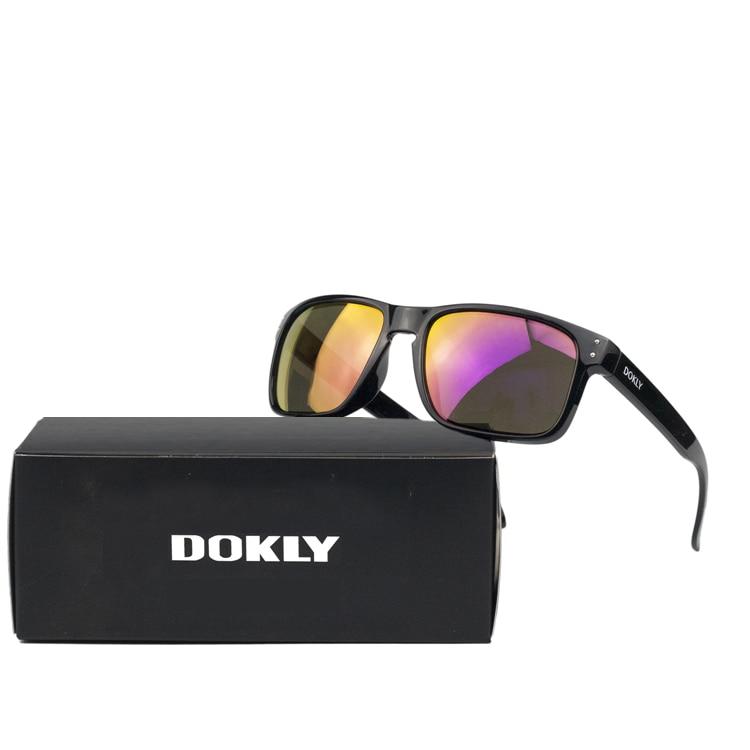 Dokly moda mujer gafas de sol unisex UV400 hombres oval mujer gafas de sol gafas de sol de diseño gafas de sol