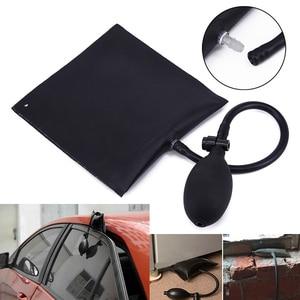Image 2 - 車エアバッグドアポジショニングクッション黒調節可能な交換自動