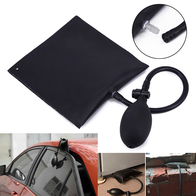 Image 2 - Car Airbag Door Positioning Cushion Black Adjustable Replace Replacement Auto