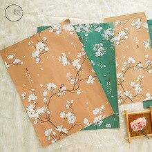 9 шт./компл. 3 конверта+ 6 букв милый цветок и птица серии Конверт Письмо Бумага подарок канцелярские принадлежности