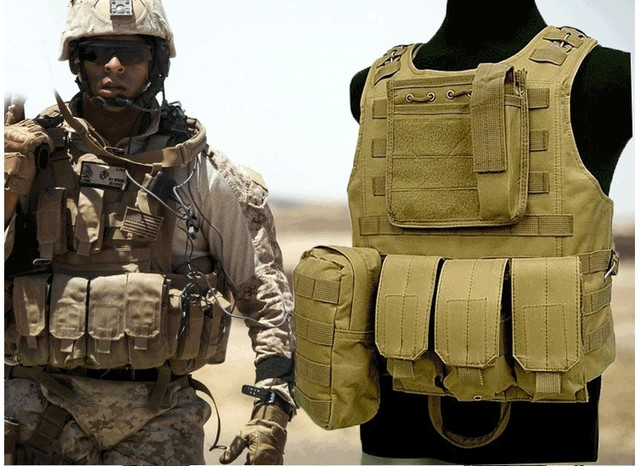 Airsoft Tactical Military Molle Combat Assault Plate