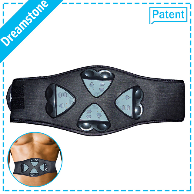 edbb5eca73 2017 Newest ABS Gymnic Electric Body Shaper Fat Burning Massage Belt  Exercise Fitness Equipment For Weight Loss