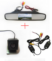 Wireless WIFI CCD camera Car Rear View Camera for 2012 Ford Focus,with 4.3 Inch Rear view Mirror Monitor