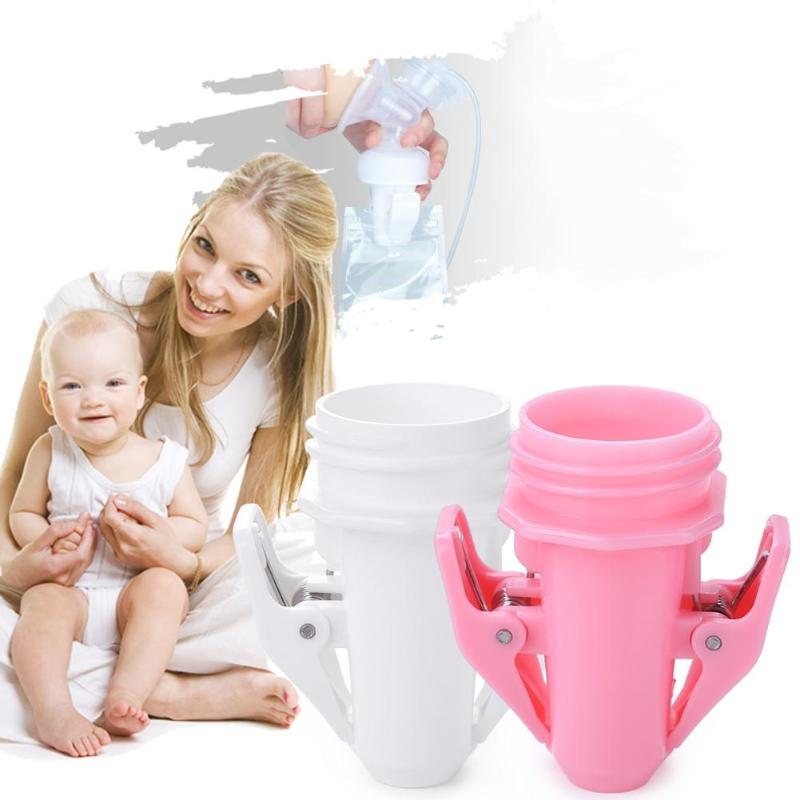 Maternity Breast Milk Storage Bags Clip Adapter For Pregnancy Postnatal Supplies Baby  Breastfeeding Manual Breast Pump Adapter