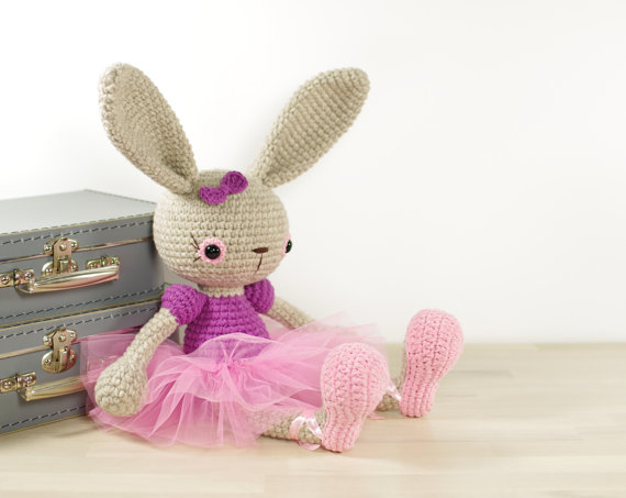 ФОТО Ballerina Bunny  Crochet Amigurumi  Soft toy rabbit  Cute toy