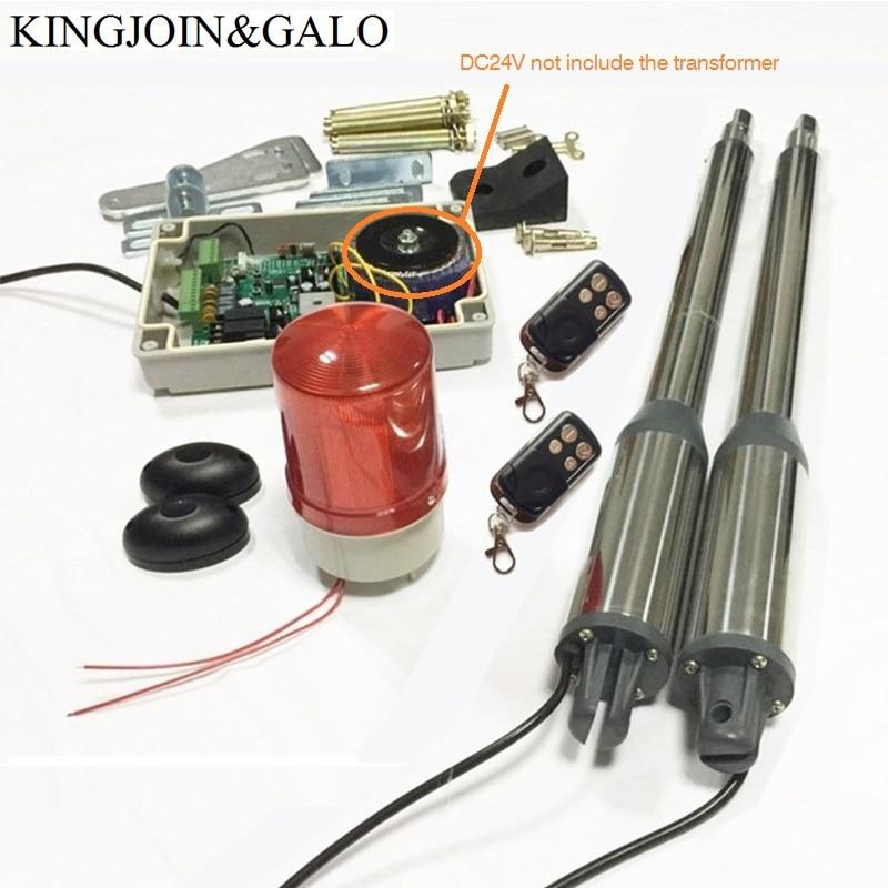 AC220V/AC110V/DC24V électrique swing porte moteur pour papillon porte ouvre