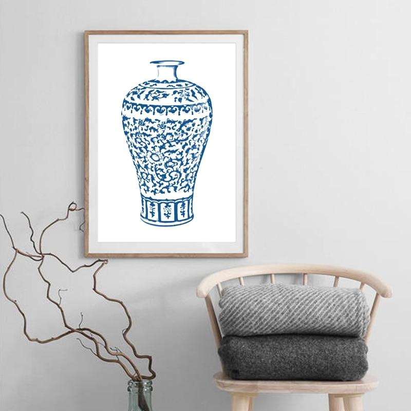 Chinoiserie Vases Wall Art Prints