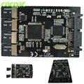 """Бесплатная доставка Мульти Карта Micro Sd для Micro SATA адаптер карты 1.8 """"hdd случае с RAID 4 TF до 16 pin SATA конвертер"""