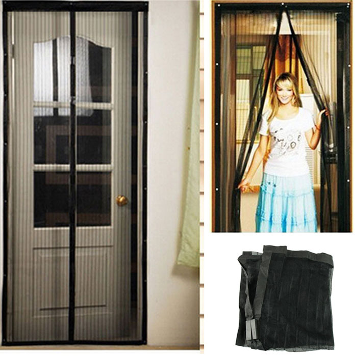 Screen Anti Mosquito Bug Fly Home Gate Door Magic Curtain Delicate Magnetic Mesh Net . & Net Door \u0026 ... Mosquito Door Net ...\