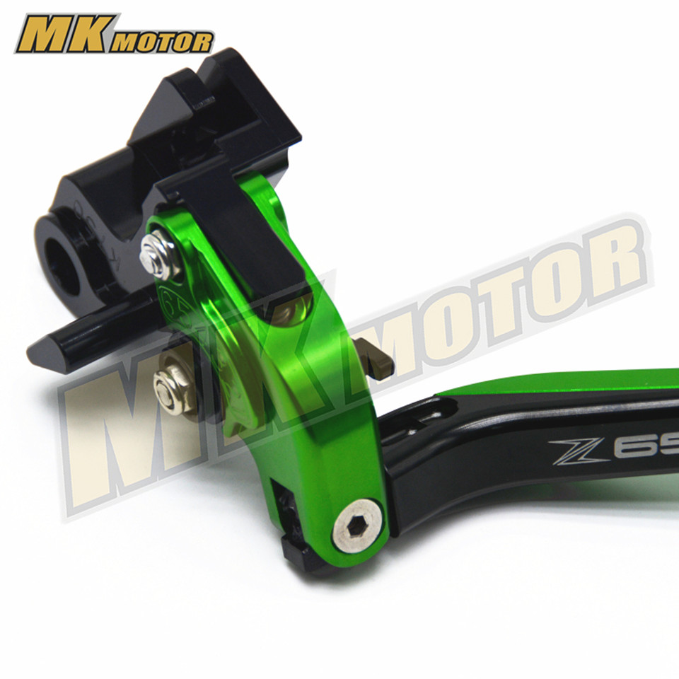 CNC ajustable plegable extensible motocicleta freno palancas de - Accesorios y repuestos para motocicletas - foto 2