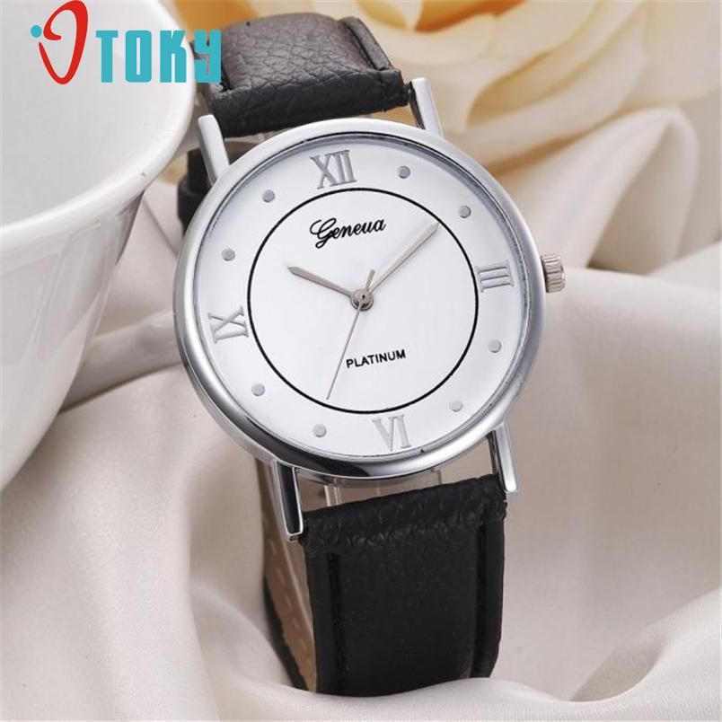 cheap wrist fashion geneva leather