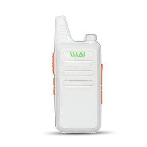 Image 5 - 2PCS Portable Radio WLN KD C1 Mini Wiress Walkie Talkie UHF Handheld Two Way CB Radio Communicator рация