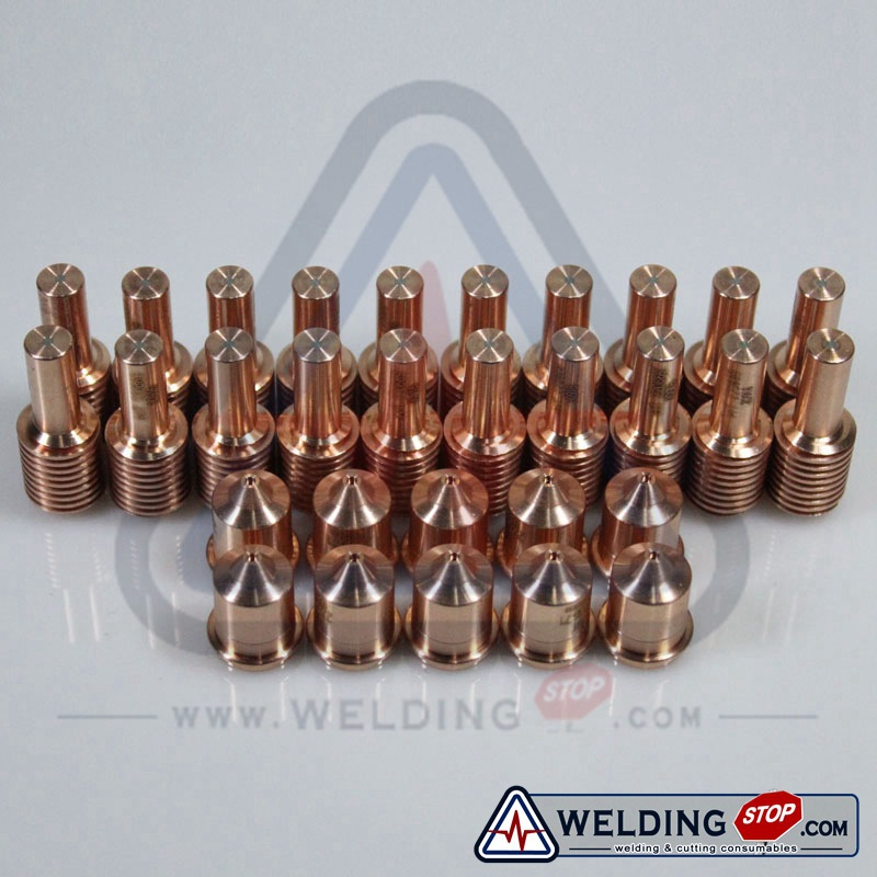 PMX45 Cutting Torch Consumables Tips Electrodes 220669 220671 45Amp 30pcs pack
