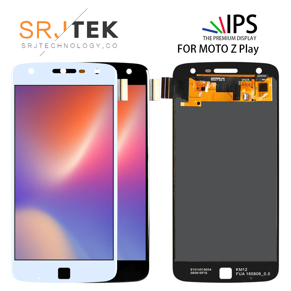 Amoled  For Motorola Moto Z Play XT1635 LCD Display Touch Screen Digitizer 5.5 inch Lcd For Motorola Z Play assembly Free Tools