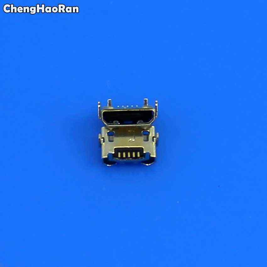 ChengHaoRan 100pcs Micro USB Jack Connector For Huawei Y5 II CUN-L01/For  Amazon Kindle Fire 5th Gen SV98LN Charging Port Plug