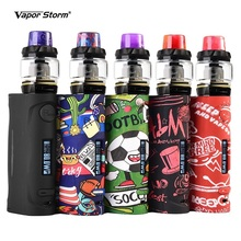 цена Original Vapor Storm Puma Baby with Hawk Kit Electronic Cigarettes Vape 80W VW TC Box Mod 6ml Coil Atomizer Tank Vapor Vaporizer онлайн в 2017 году