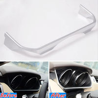Car Interior Mouldings ABS Dashboard Instrument Box Cover Trim Decal For 2014 16 Land Rover Range Rover Sport Car Styling Covers