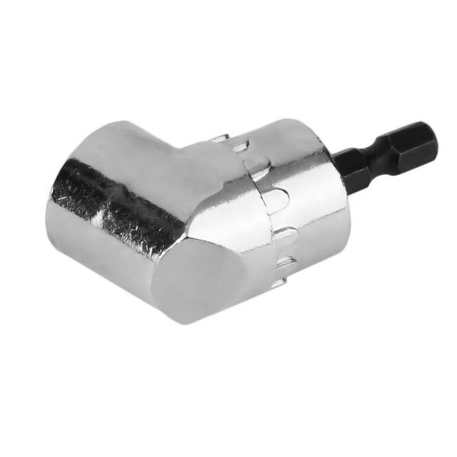 Hot Worldwide 105 degrees 1/4″ Extension Hex Drill Bit Adjustable Hex bit Angle Driver Screwdriver Socket Holder Adaptor tools Hand Tools