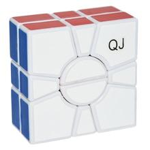 Lefun Brand QJ 2x2x2 2 layer SQ 1 Speed Magic Cube SQ Puzzle Cube Twist Toys