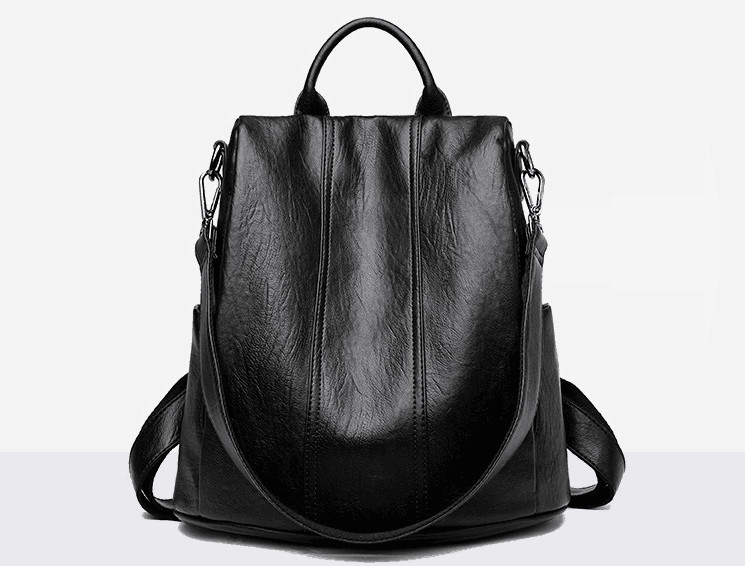 2018 split en cuir femmes de mode grand sac à dos occasionnel