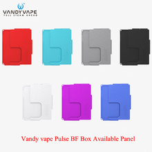 Oryginalny Vandy Vape Pulse BF Mod dostępny Panel dla VandyVape Pulse BF box Mod tanie tanio Wstępnie utworzonych Cewki Vandyvape Pulse BF Box Available Panel Metal