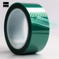 New PET Tape Good Viscosity High Temperature Heat Resistant Solder Repair 50mm X 33m100ft Color Bright