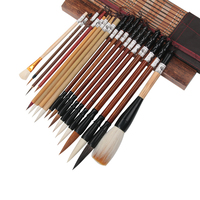 Luxurious Mouse Whisker Lian Brush Set Chinese Calligraphy Brush Pen Bird Landscape Ink Painting Brush Chinese Painting Supplies