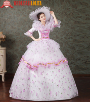 Gothic Period Dress Ball Gown 18th Century Court Dress / Victorian Party Evening /Southern Belle Ball Gown