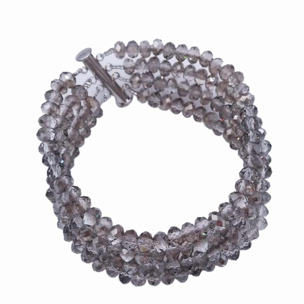 האופנה גריי אפור סט תכשיטים אפריקאי סטי תכשיטי כלה לנשים בנות המפלגה מסיבת רווקות כלה ניגרית 5L-DS029 מתנות