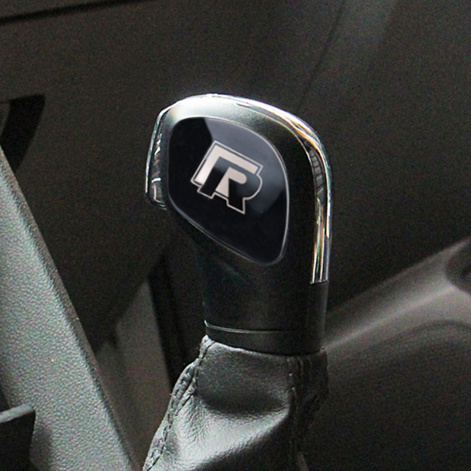 2Pcs/Set DSG Gear Head Shift Knob Protection Cover Trim Sticker for VW CC Passat B7L Golf 6 7 MK6 MK7 GTI Jetta MK6 Accessories for audia6lc7pa s6 s7 a7 vw passat b7 cc carbon fiber gear shift knob 4g0 713 139oemblack leather gear shift knob universal