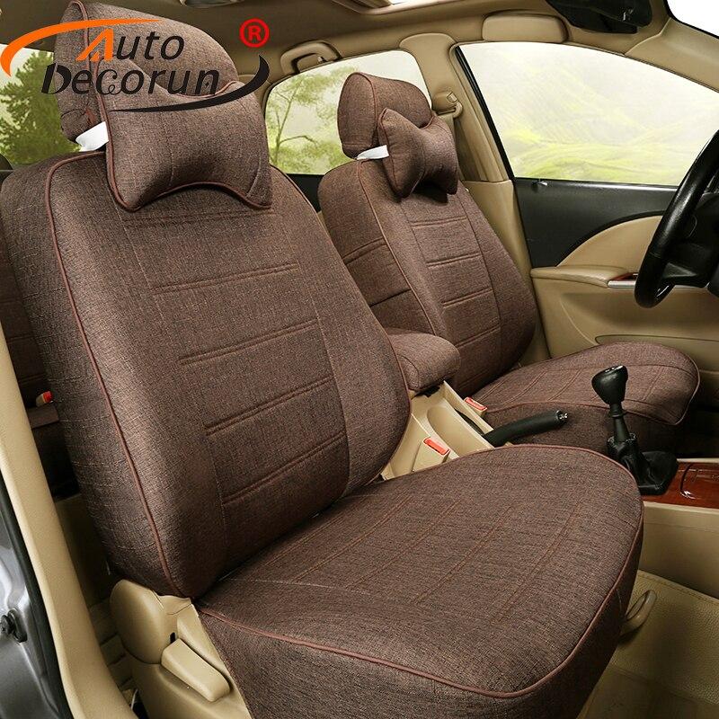 AutoDecorun Custom Fit Cover Seat for Kia Sportage 2012 2015 font b Car b font Seat