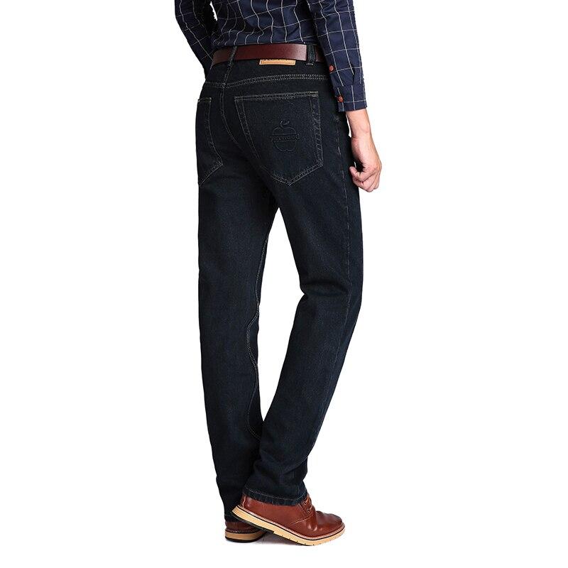 High Waist 100% Cotton Mens Classic Jeans  1
