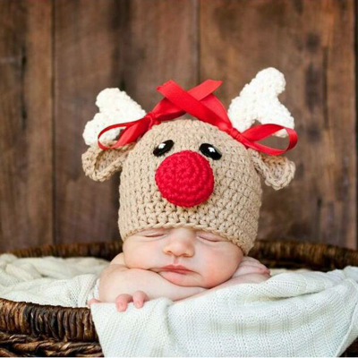 dd6b585cc963c PUDCOCO 2017 Newest Lovely Newborn Baby Knit Crochet Hat Photography ...