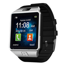 Brand LED Electronic intelligent Wristwatch Waterproof Sport Gold Smart Watch DZ09 Pedometer For iPhone Android Wrist Watch Men
