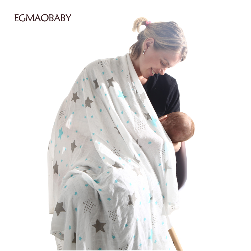 Baby Swaddle New Arrival Summer Infant Geometry Muslin Baby Swaddle Blanket Newborn Baby Bath Towel Swaddle Blankets Baby Wrap
