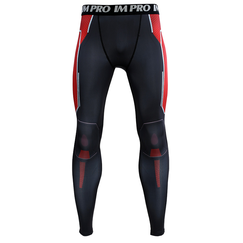 Trousers Male Leggings Printed-Pattern Compression-Tights-Pants Avengers Skinny Man 3D